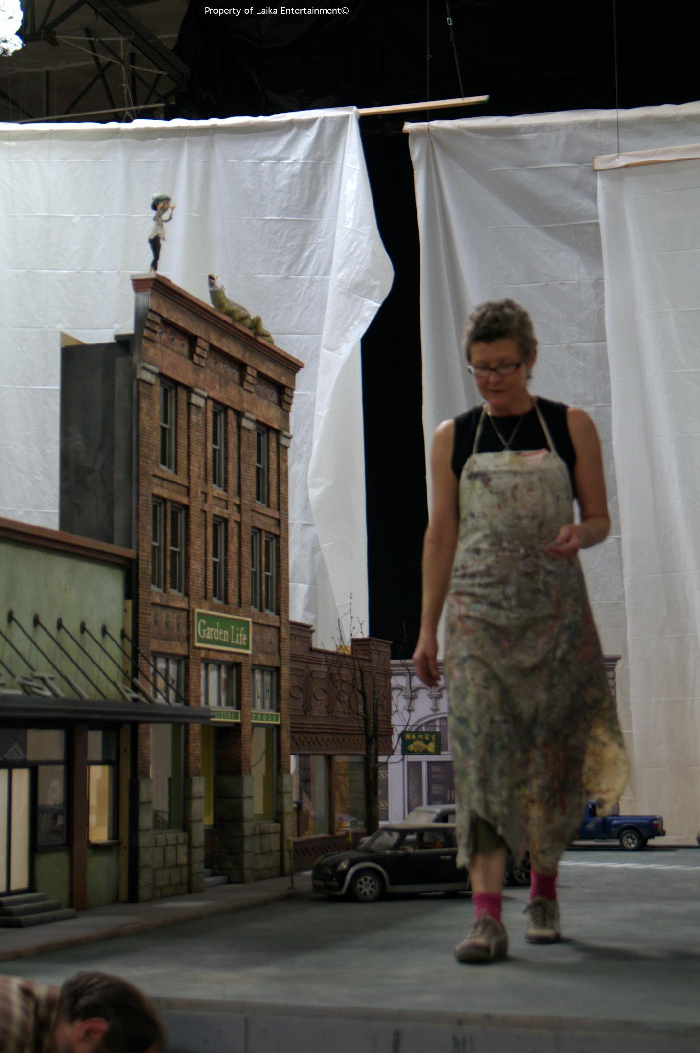 theatrical and scenic work loren hillman