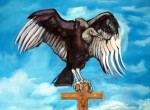 Vulture on Cross
